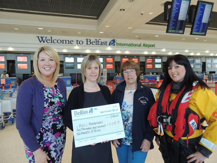 Charity donation benefits Royal National Lifeboat Institution