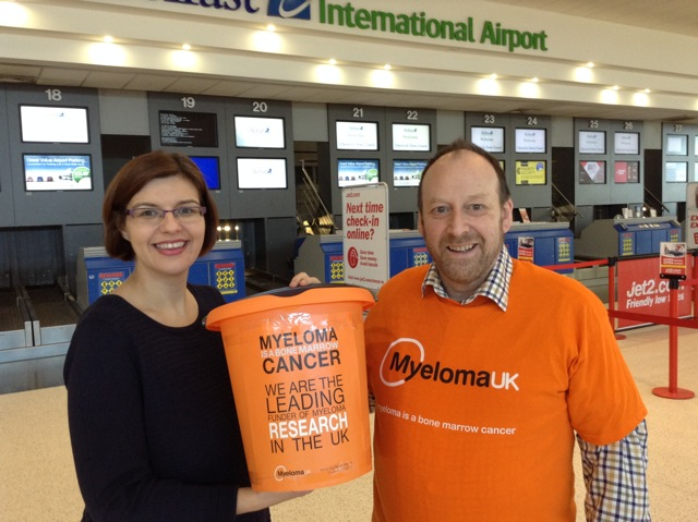 Charity donation helps Myeloma UK