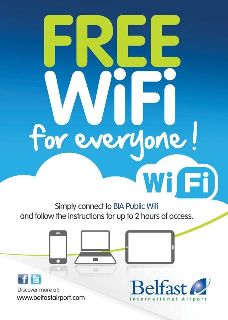 Free wi-fi network wins praise from Forum Chairman