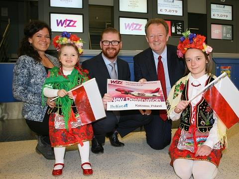 Wizz Air inugurates new flights to Katowice