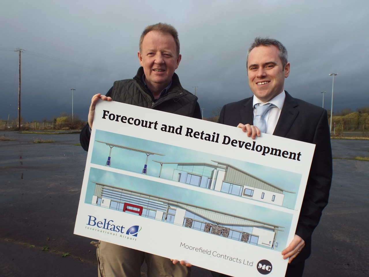£2.5 million airport development to create 35 new jobs