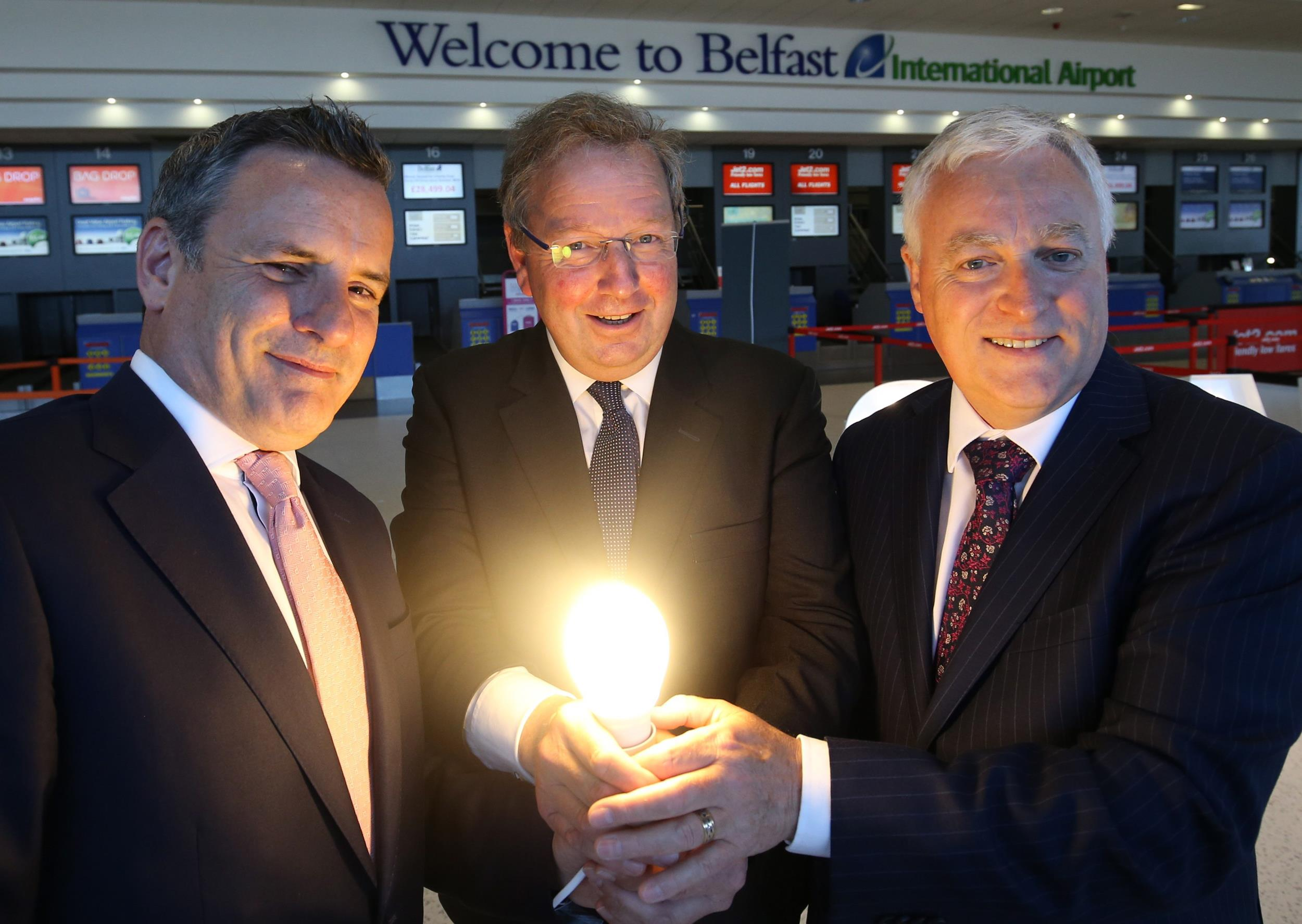 Belfast International Airport gets 'green' power from NI's first Solar Farm
