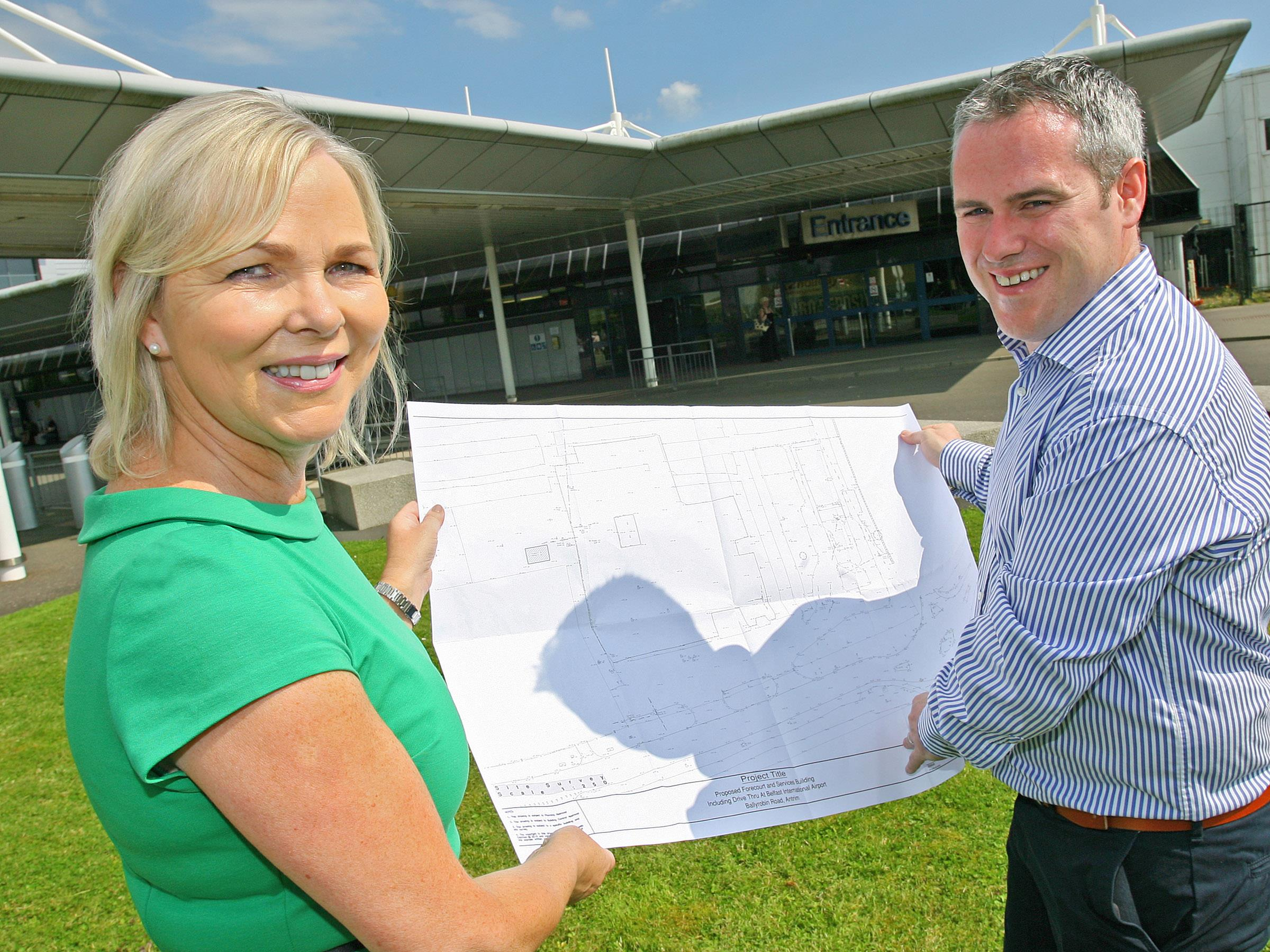 Council gives go-ahead for £2.5 million airport forecourt and retail development