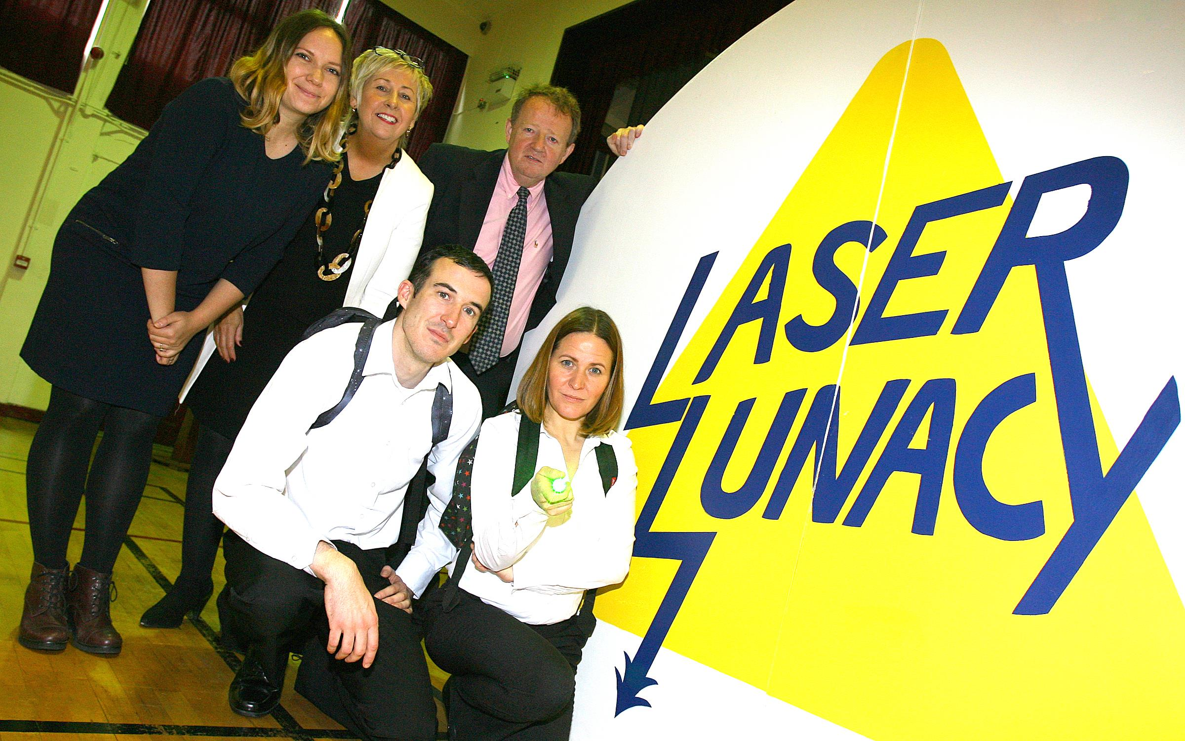 'Laser Lunacy' gets thumbs up from secondary schools
