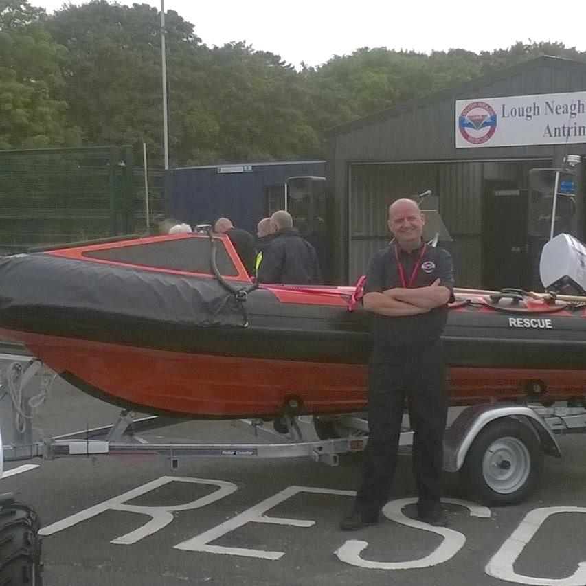 Helping those who help us …  Lough Neagh Rescue