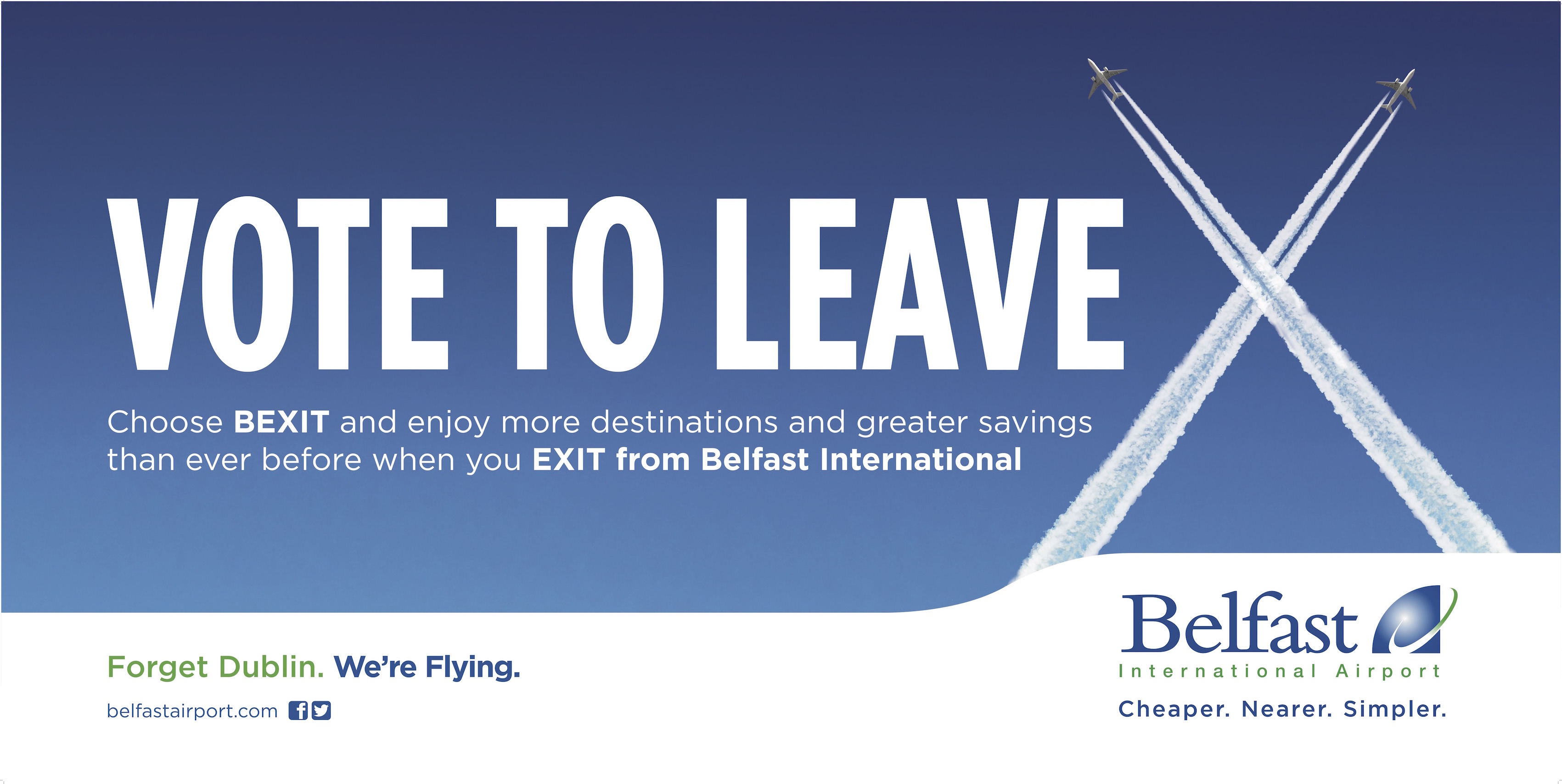 Belfast International launches major advertising drive in Republic of Ireland