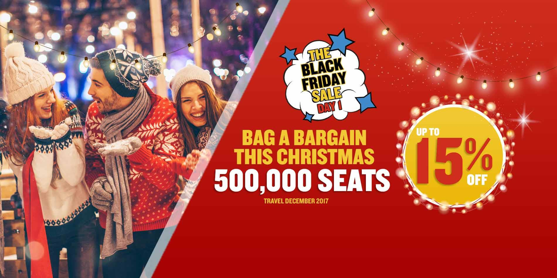 Ryanair launches 'BLACK FRIDAY' Week-long Promotion