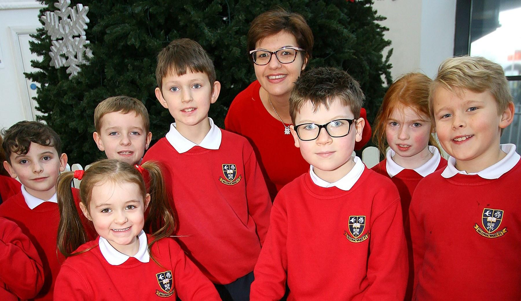 Ballymacward Primary light up Christmas