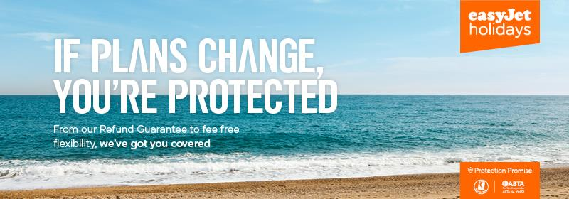 easyJet holidays launches Protection Promise.
